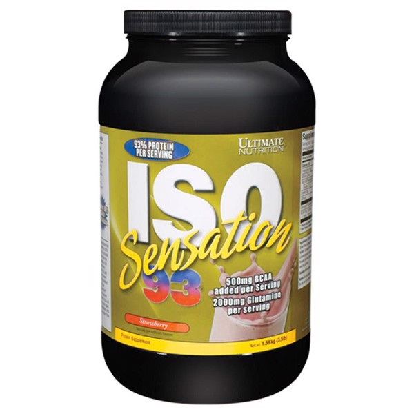 Iso sensation 93 от ultimate nutrition - спортивное питание на dailyfit
