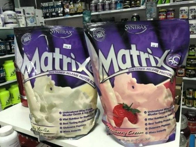 Состав протеина матрикс