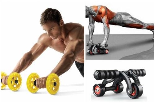 Лучшие упражнения с гимнастическим роликом для пресса