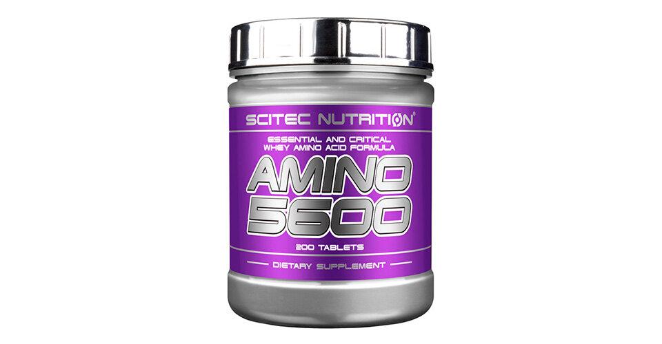 Amino 5600 200 табл (scitec nutrition) купить в москве по низкой цене – магазин спортивного питания pitprofi