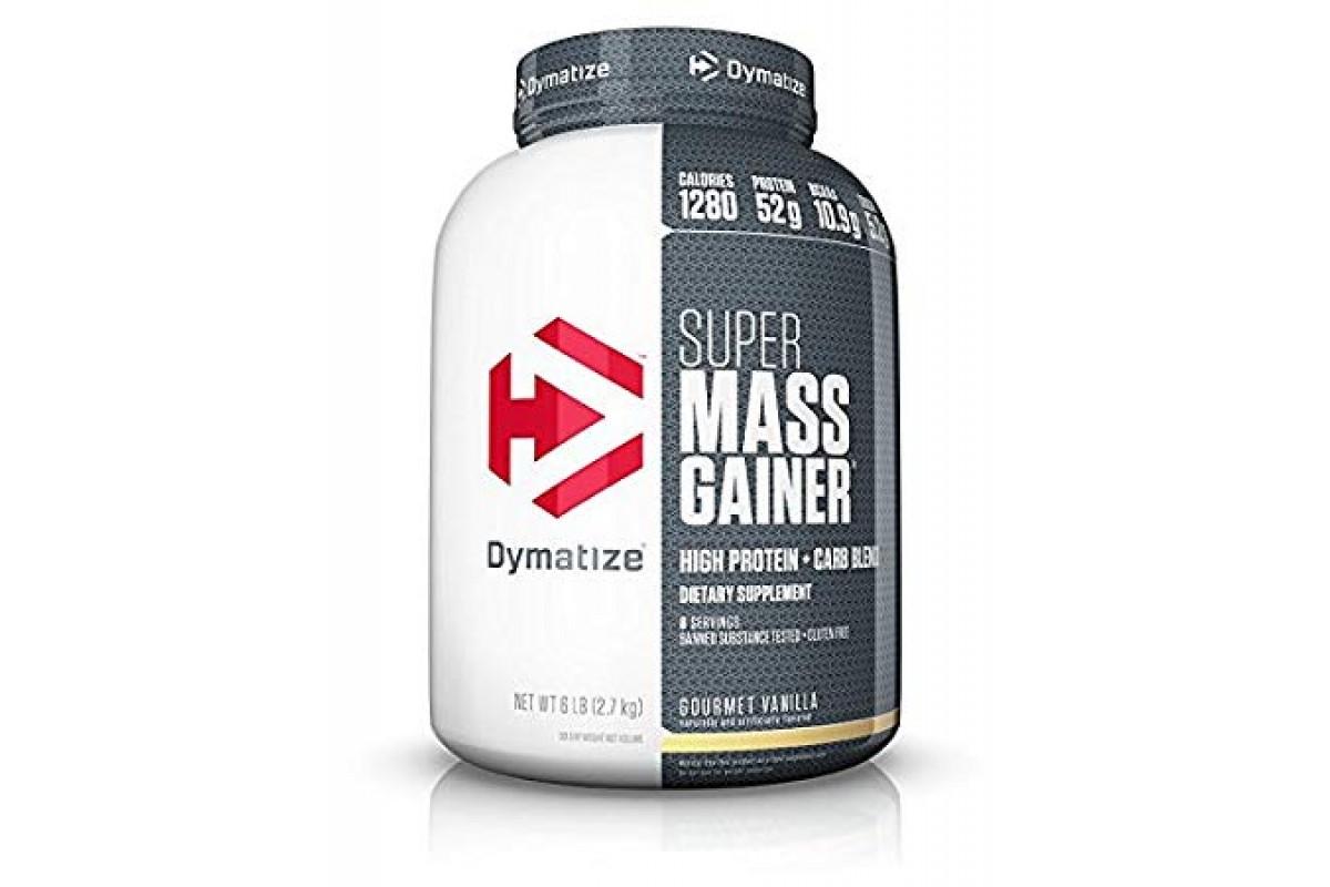 Super mass gainer 2720 гр - 6lb (dymatize)
