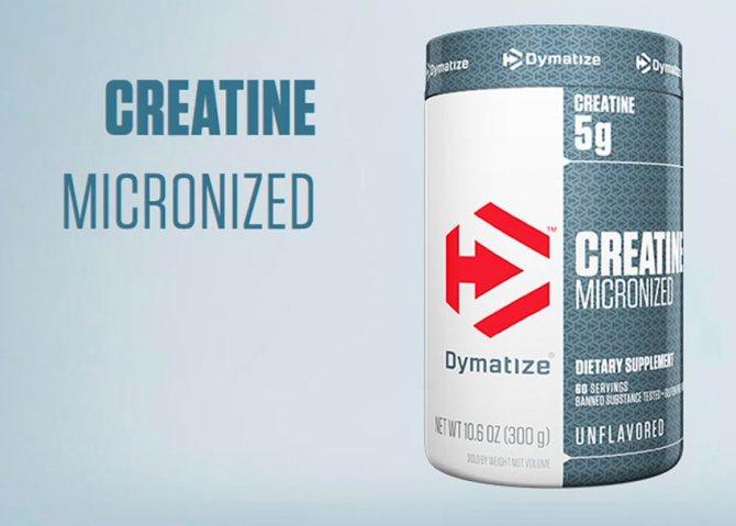 Dymatize creatine micronized: как правильно принимать добавку?