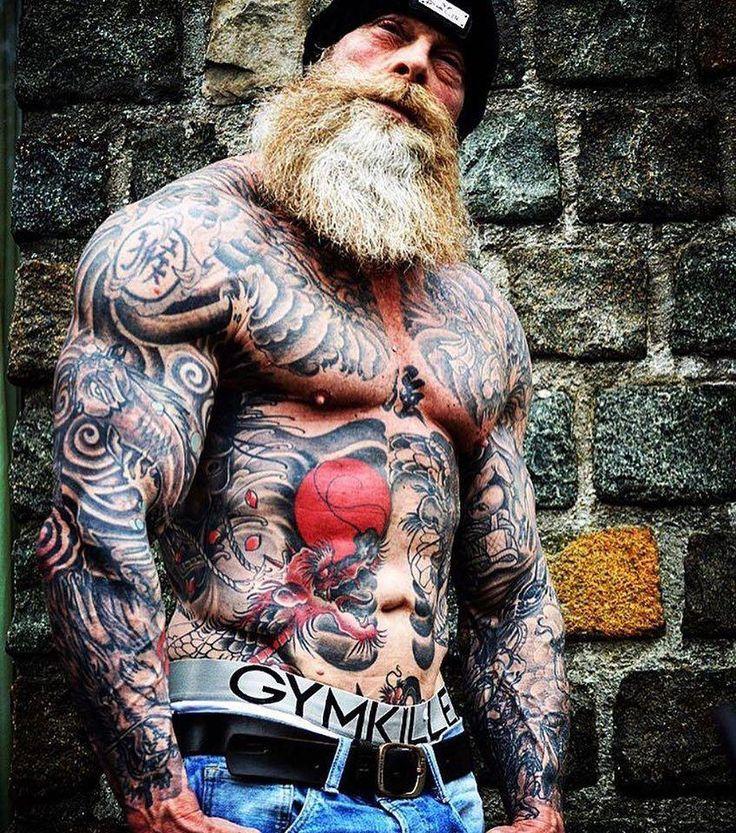 90% тела этого качка покрыто татуировками | мудрый тренер филин | яндекс дзен