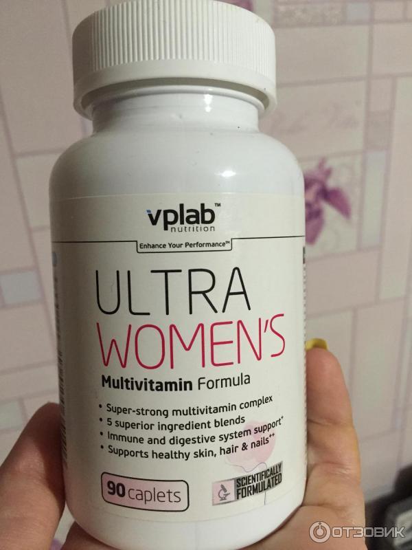 Витамины VPLab Ultra Women's Multivitamin Formula: состав, польза и противопоказания