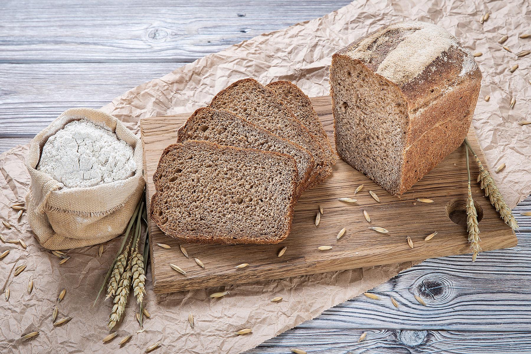Хлеб - польза и вред белого, черного и ржаного