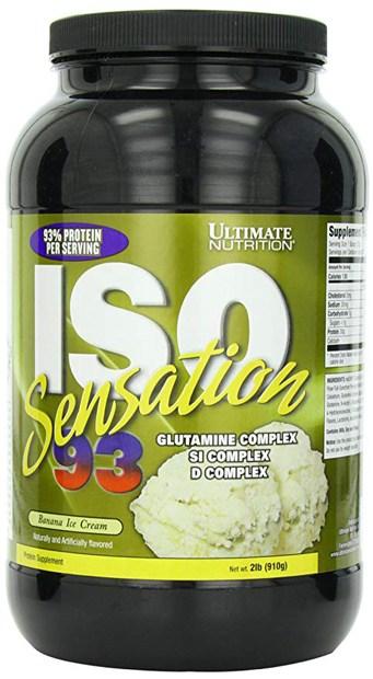 Краткий обзор ultimate nutrition iso sensation 93 — январь 2020
