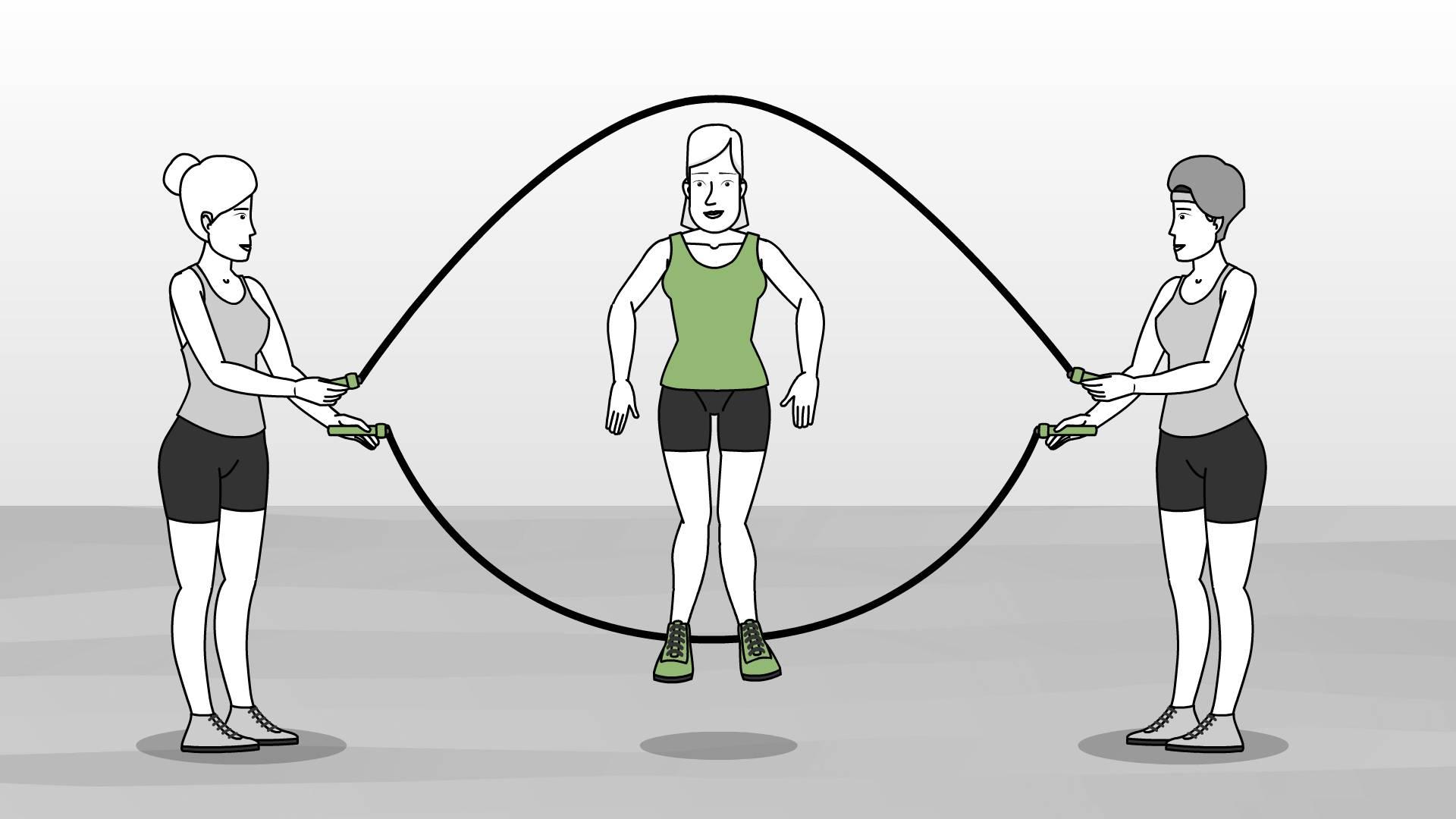 Прыжки на скакалке для похудения: советы и рекомендации