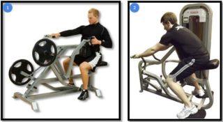 Жим в тренажере хаммер (лежа, сидя, на плечи, ногами): техника, достоинства
