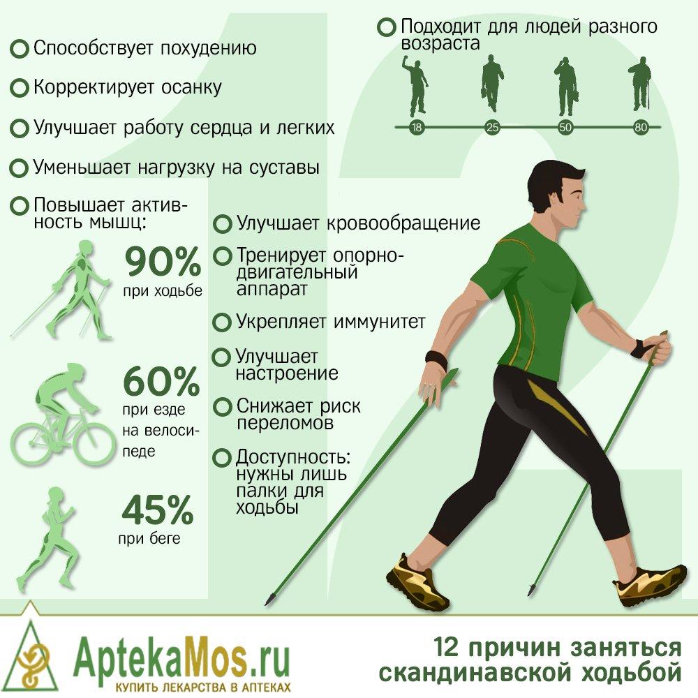 Как правильно заниматься ходьбой, чтобы похудеть. ходьба для похудения: спортивная, скандинавская, длительные прогулки