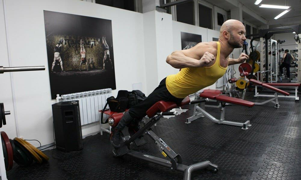 Силовые упражнения при остеохондрозе