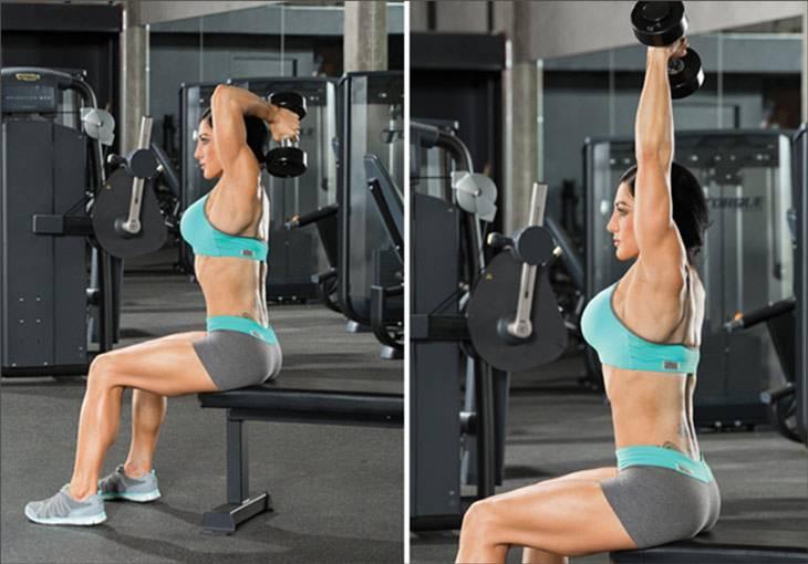 Лучшие упражнения для трицепса