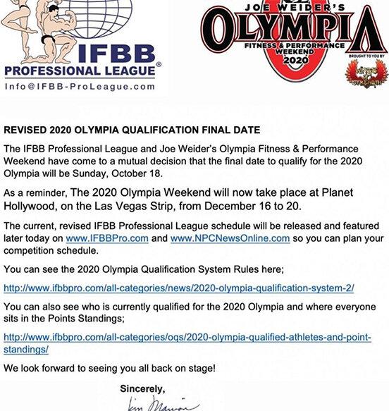Биг рами получил специальное приглашение на мистер олимпия 2020