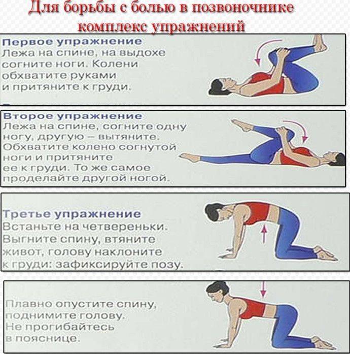 Йога для спины и позвоночника: 8 асан (упражнений) для начинающих при болях в спине и поясницеwomfit