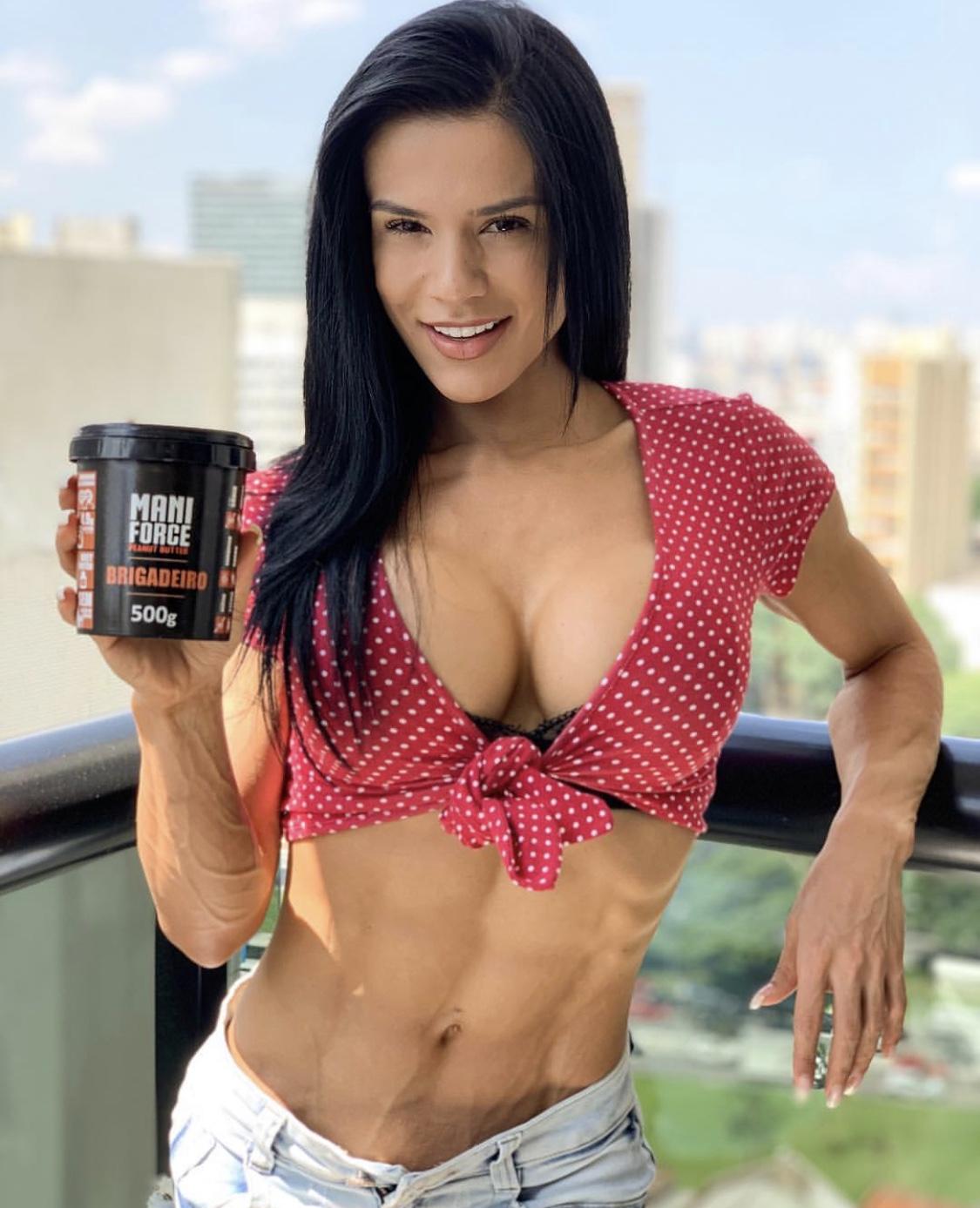 Eva andressa: тренировки и питание