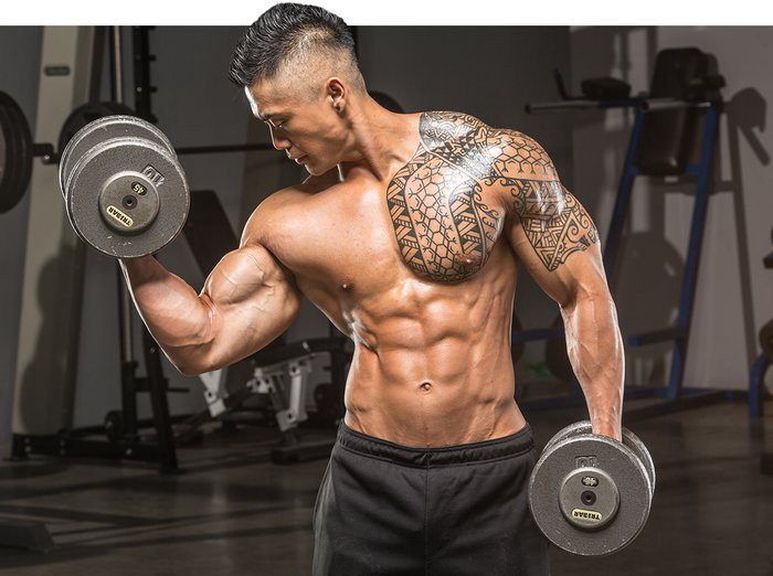 Как увеличить объем мышц. эффективная программа тренировок на объем мышц