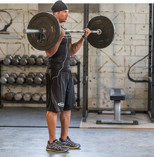 Подъем штанги на бицепс —правильная техника и виды упражнения