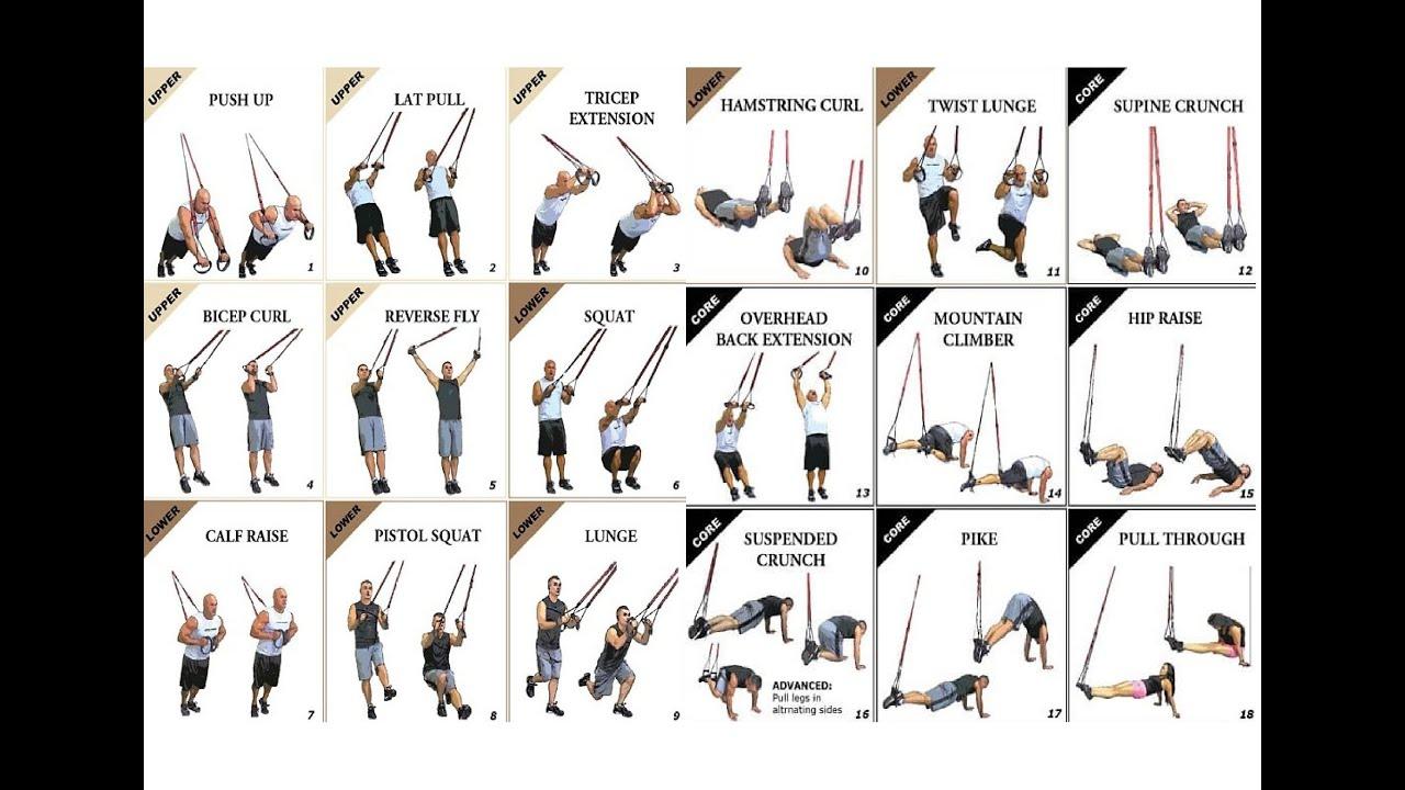 Упражнения на trx петлях для похудения