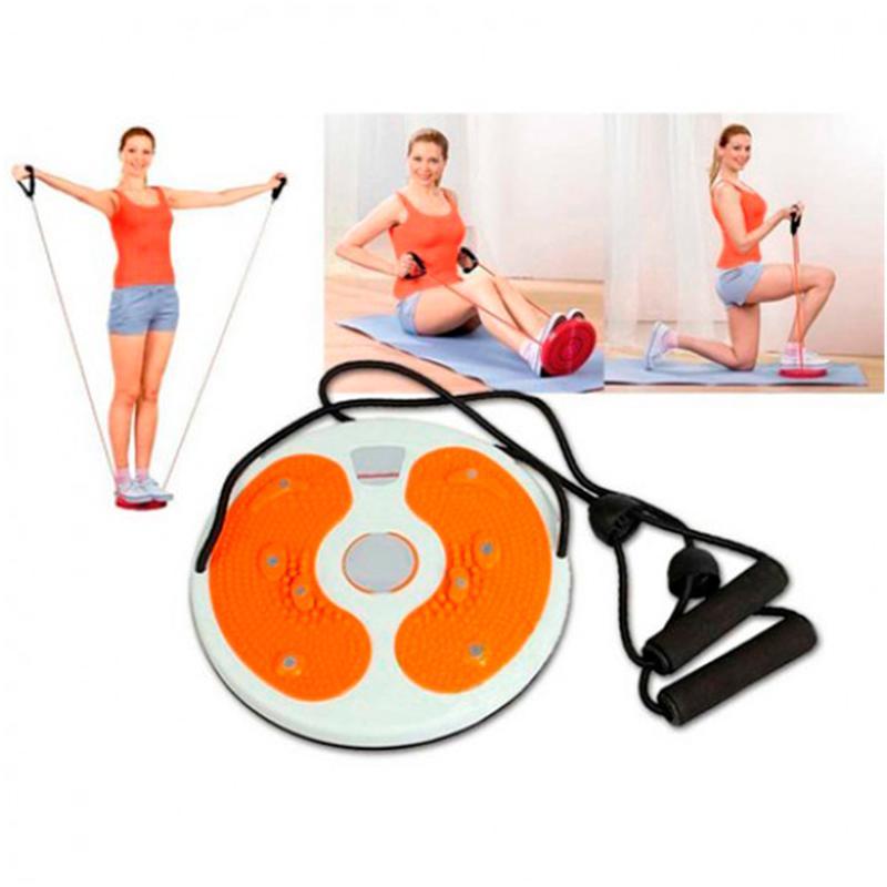 Диск здоровье – упражнения для похудения и баланса