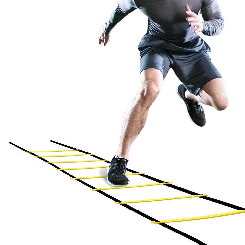 Координационная лестница: варианты упражнений на скоростном тренажере, тренировочная лесенка своими руками