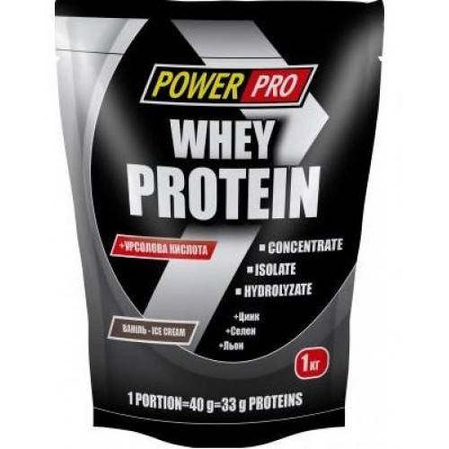 Power pro - украинский бренд спортивного питания