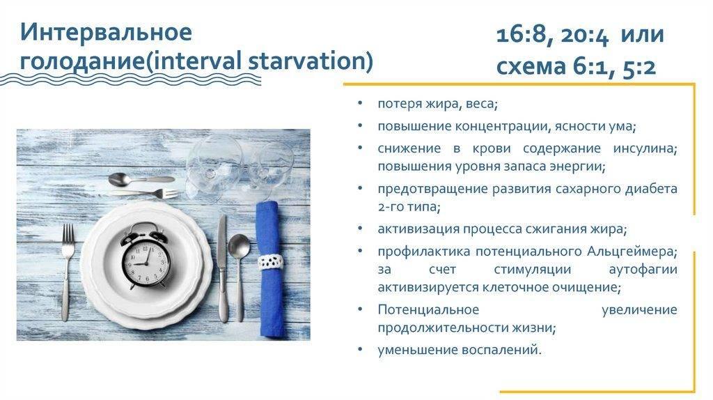 Аутофагия: как правильно голодать, интервальное голодание для похудения женщин 16/8 - отзывы и результаты