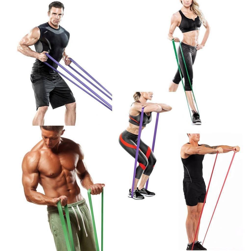 Упражнения с резиновым эспандером — sportfito — сайт о спорте и здоровом образе жизни