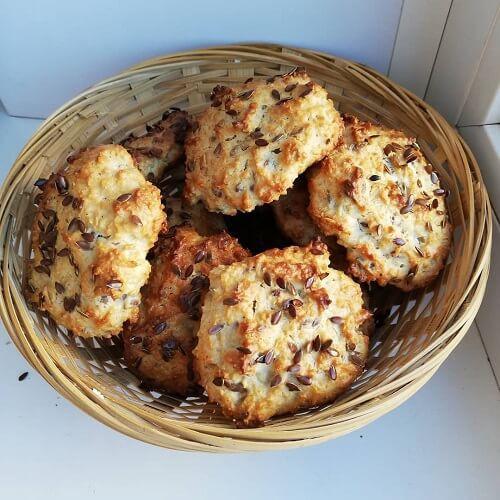 Овсяное диетическое печенье – кулинарный рецепт