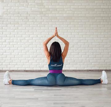 Растяжка для шпагата начинающим, упражнения в домашних условиях