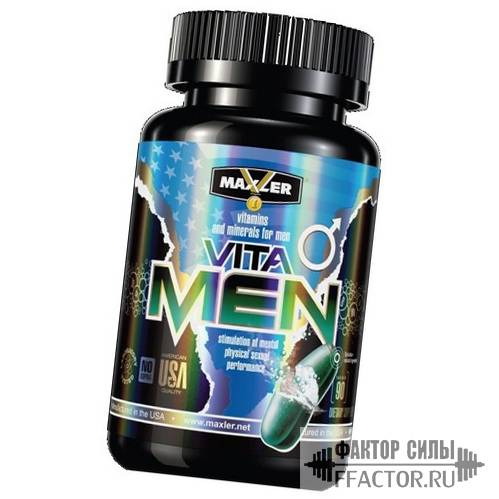 Maxler vitacore – обзор комплекса витаминов
