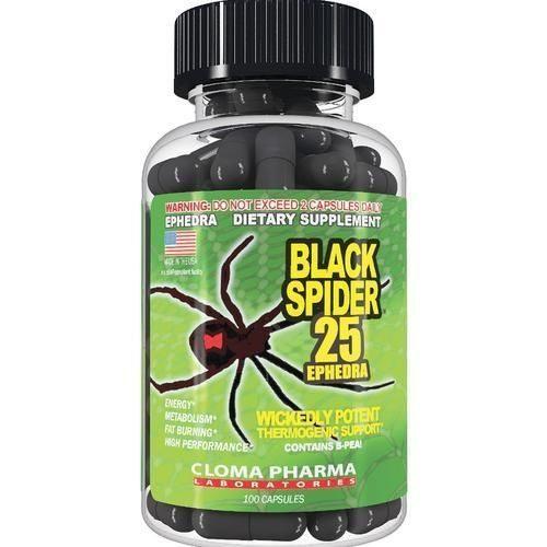 Как правильно принимать жиросжигатель black spider widow?