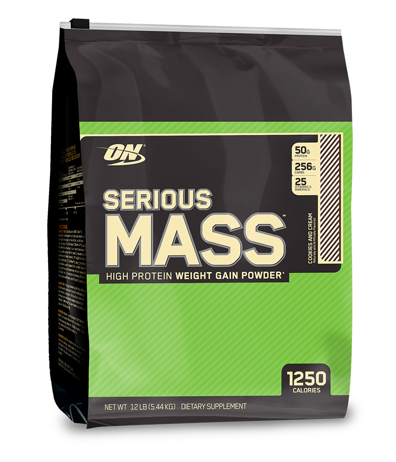 Гейнер Сириус Масс (Serious Mass) — лидер рынка от Optimum Nutrition