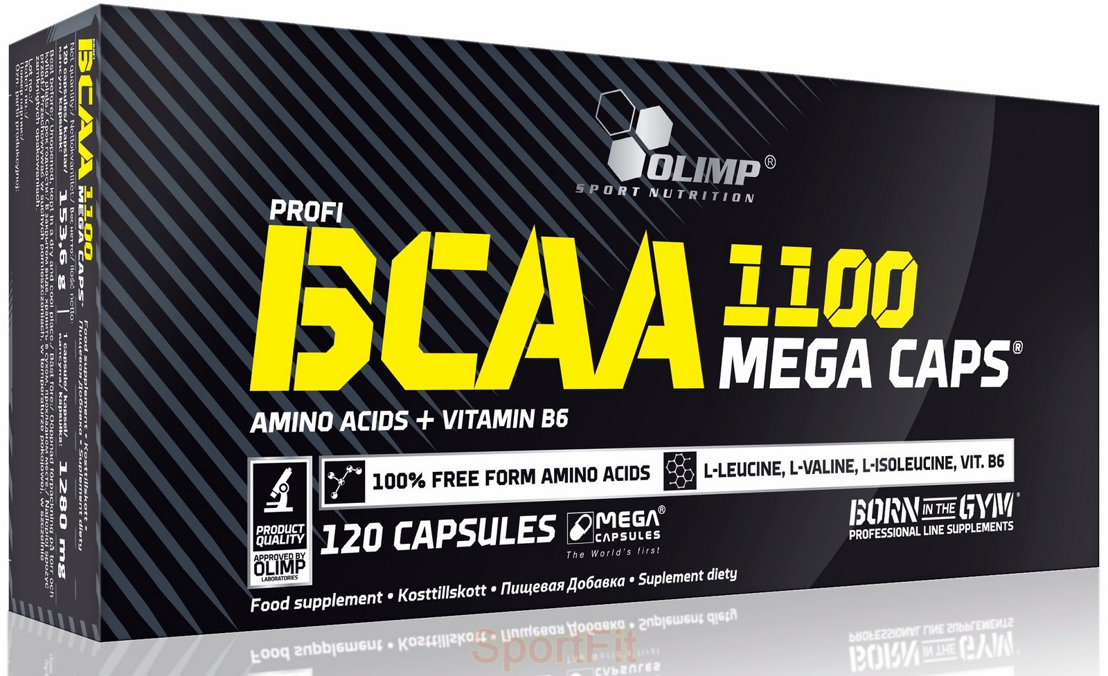 Bcaa olimp mega caps – обзор комплекса