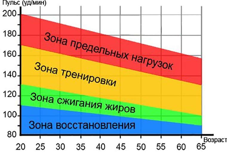 Калькулятор чсс для расчета пульсовых зон