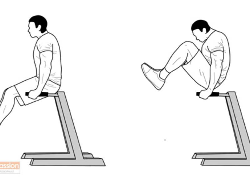 Подъем ног в упоре на локтях для мужчин - упражнения и техника выполнения | худеем правильно, самые эффективные диеты