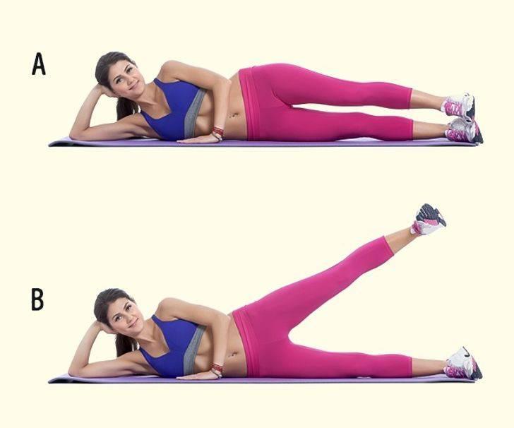 10 упражнений для ног в домашних условиях: самые эффективные тренировки для сжигания жира, укрепления мышц, стройных и красивых бедер и ягодиц у девушек