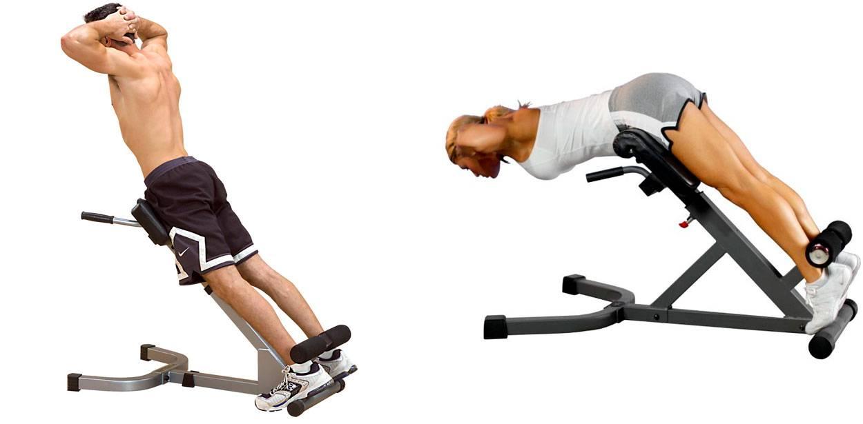 Гиперэкстензия для укрепления мышц спины: рекомендации, техника выполнения
