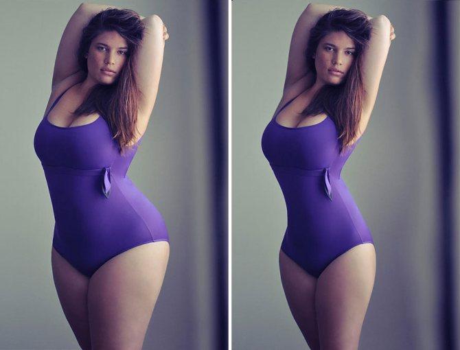 Идеальная девушка – рост, вес и фото
