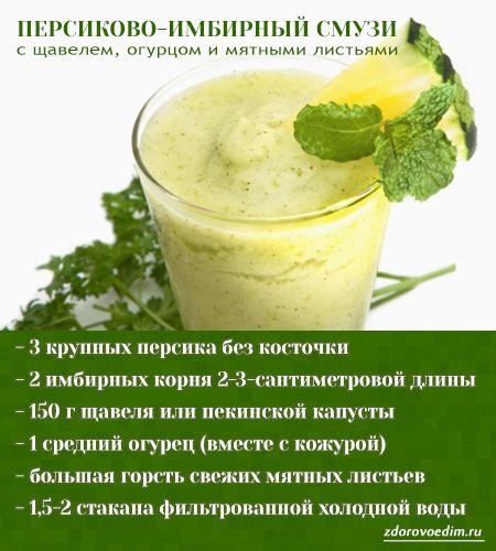 Детокс напитки для похудения: рецепты в домашних условиях