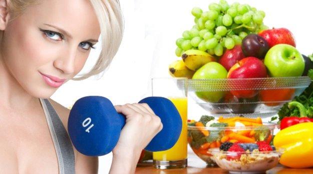 Правильное и здоровое питание при фитнесе и спорте