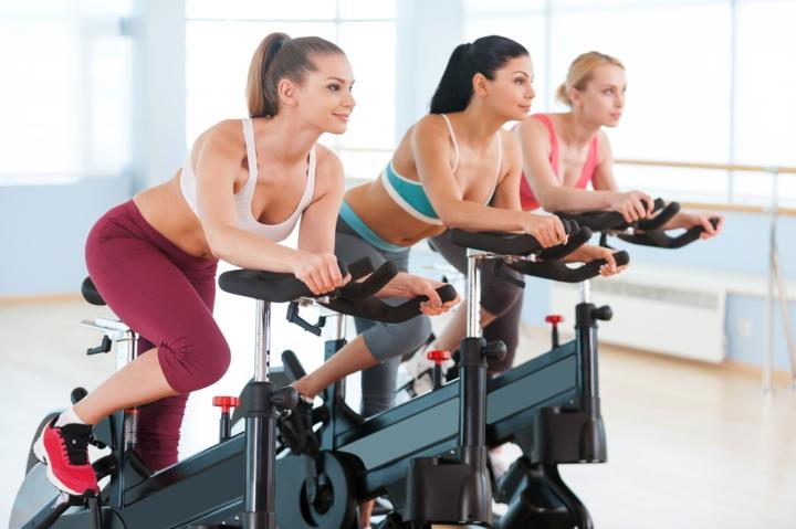 Какие мышцы работают при езде на велотренажере в картинках