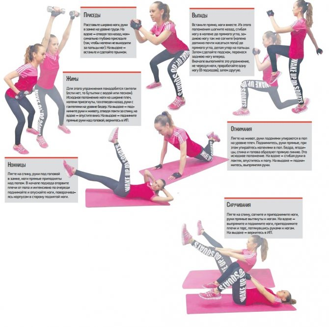 Программа тренировок для девушек в тренажерном зале (легкая и тяжелая)