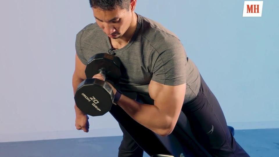 Базовые упражнения для рук: как накачать большие руки эффективно?