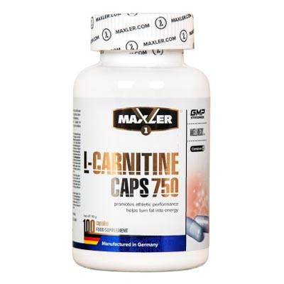 L-carnitine caps 750 от maxler