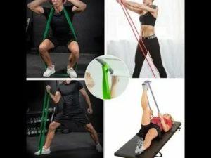Лучшие комплексы упражнений с резинкой для проработки всего тела