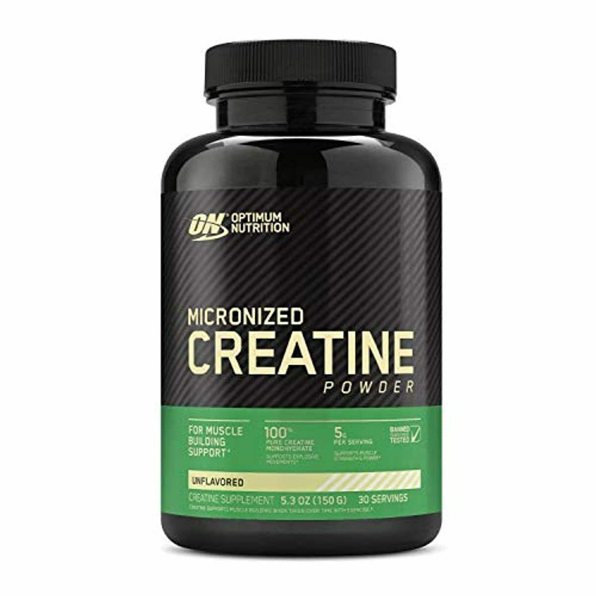 Обзор креатина micronized creatine powder от компании optimum nutrition