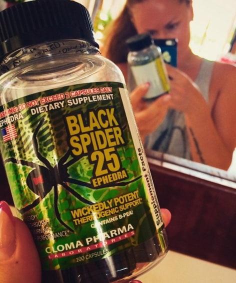 Все что нужно знать о жиросжигателе black spider 25 c эфедрой