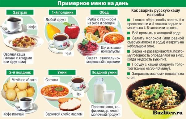 Самая здоровая еда после 50 лет - список продуктов питания