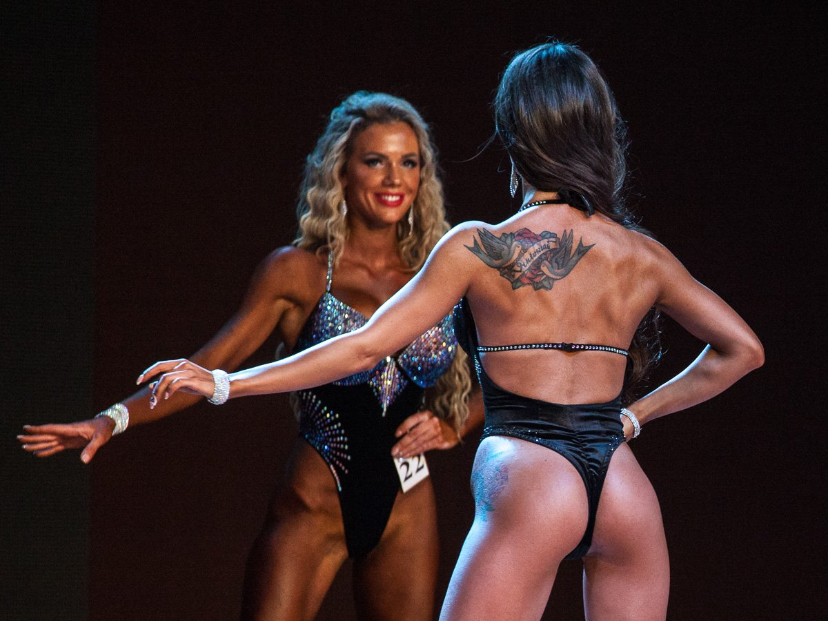 Мастер-класс по позированию в фитнес бикини и бодифитнес