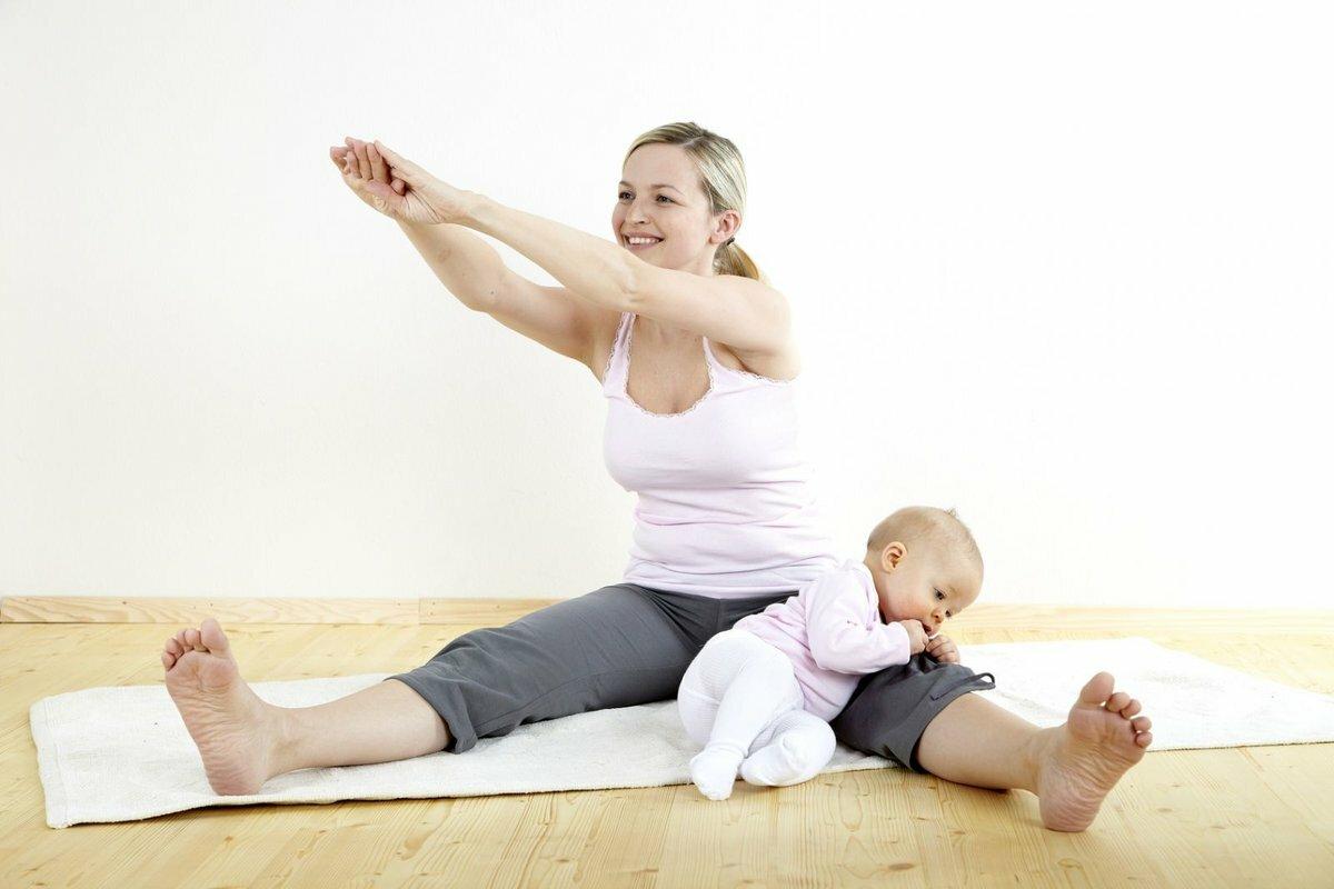 Как быстро похудеть после родов и сделать крутую форму!