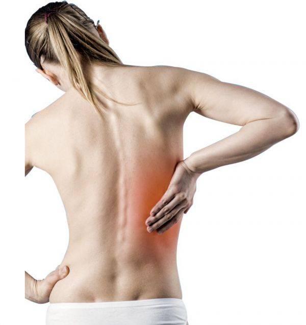 Боль в спине в области лопаток: слева, справа, причины, лечение